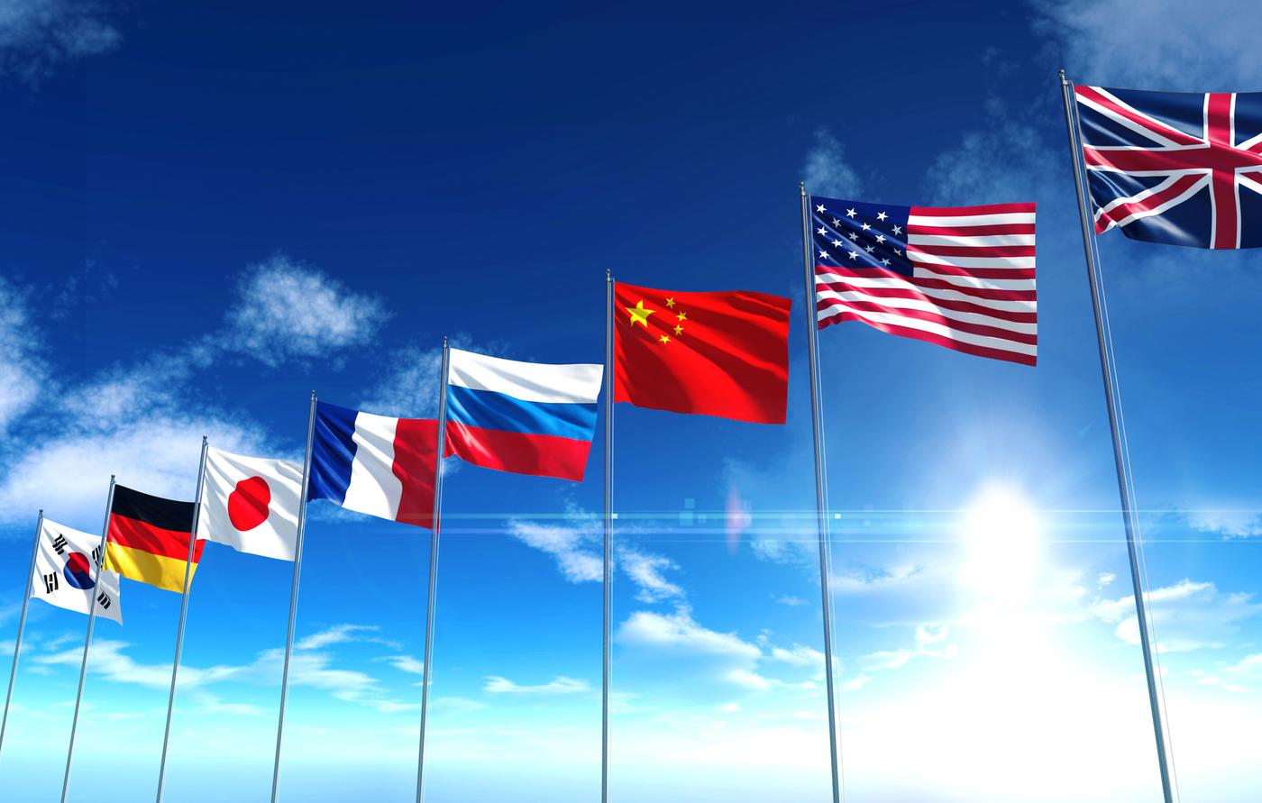 BDRC international school survey flags