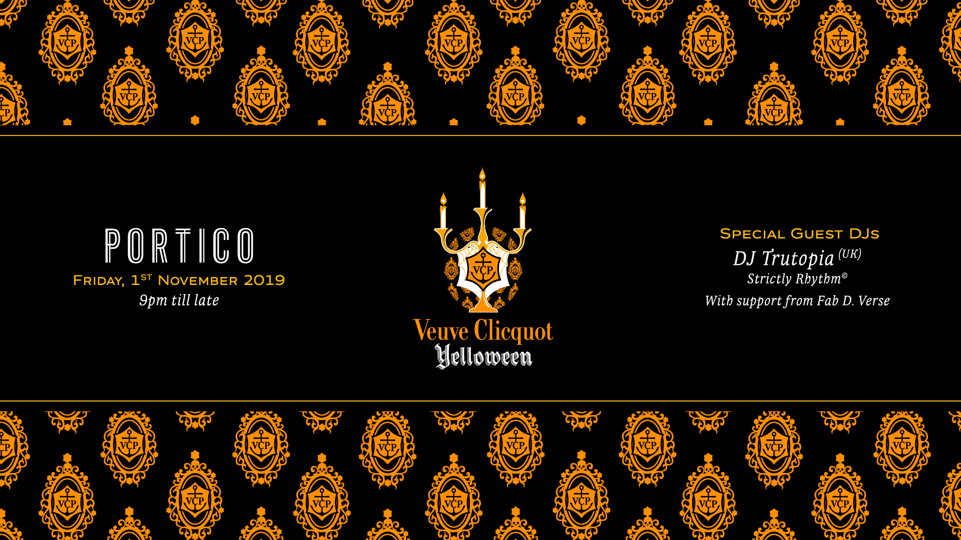 Portico Presents Veuve Clicquot Yelloween Honeycombers Hong Kong