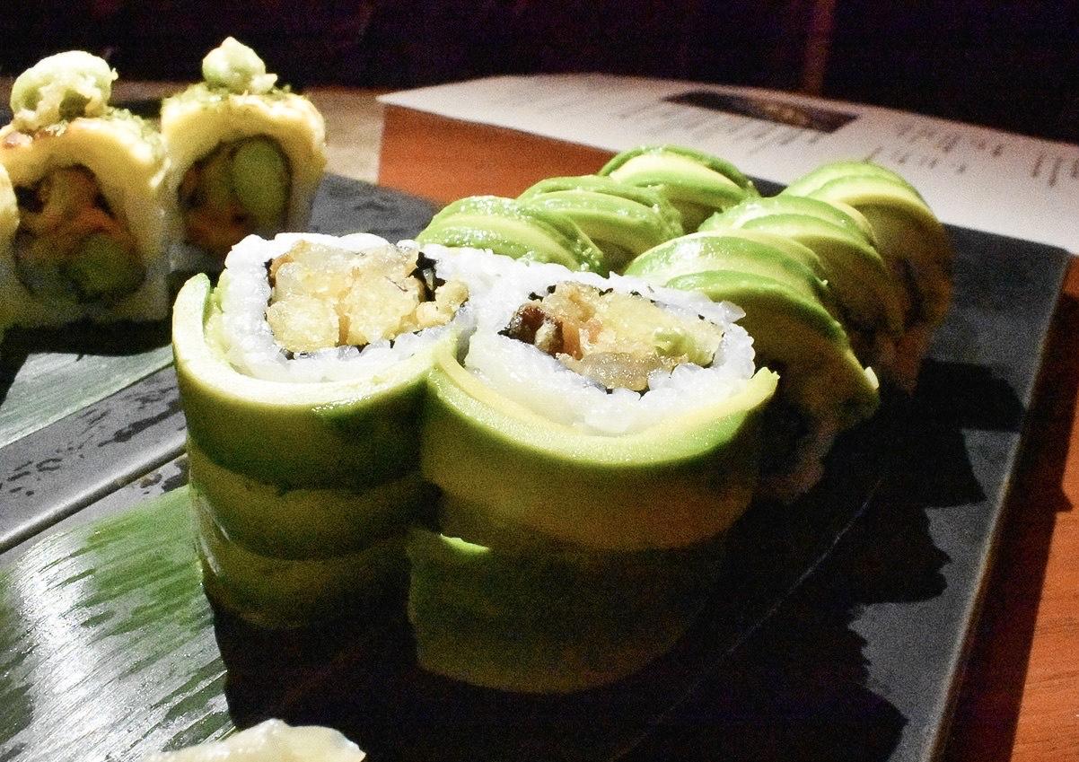 Kyoto Joe vegetarian sushi
