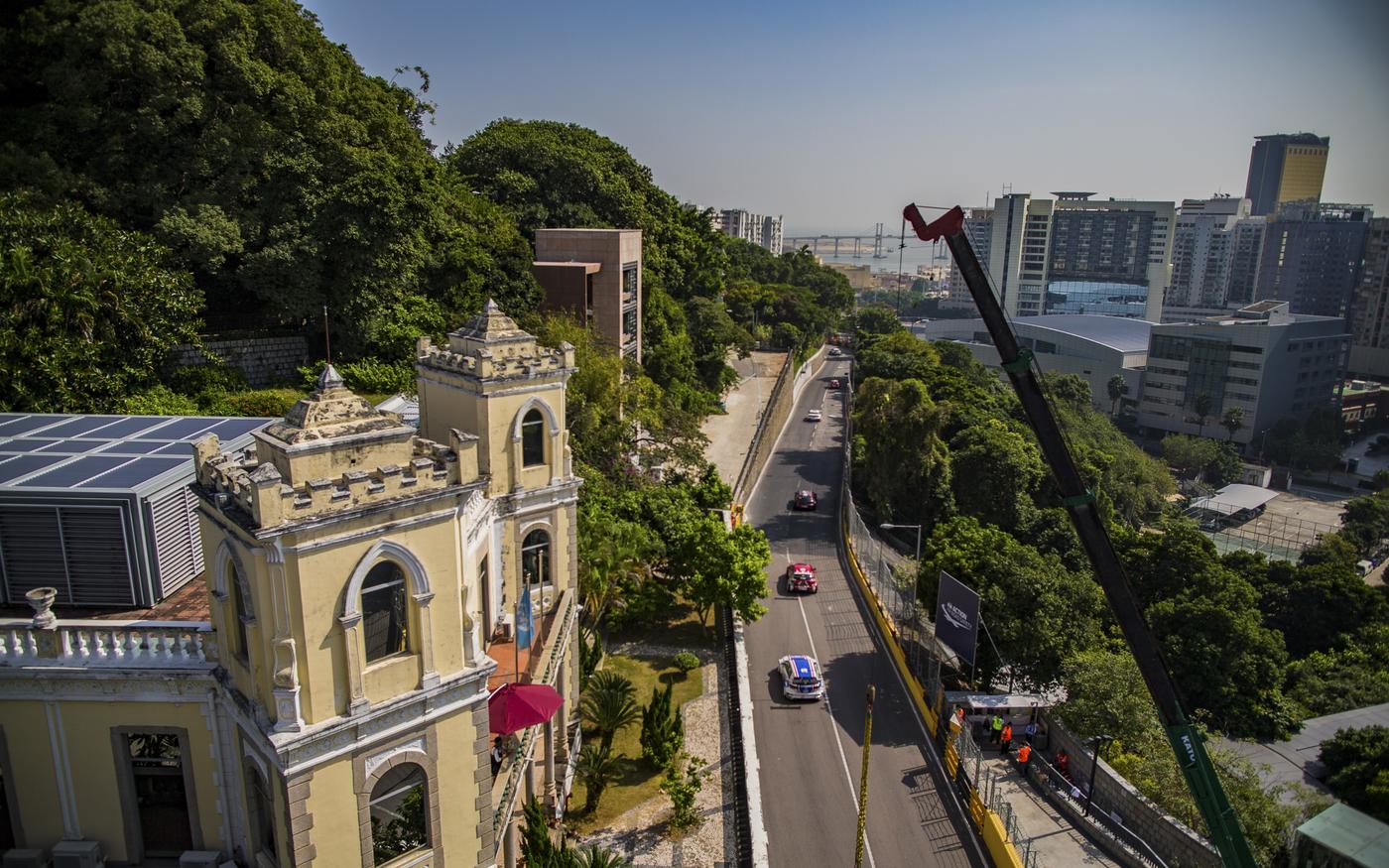 Suncity Group 66th Macau Grand Prix street
