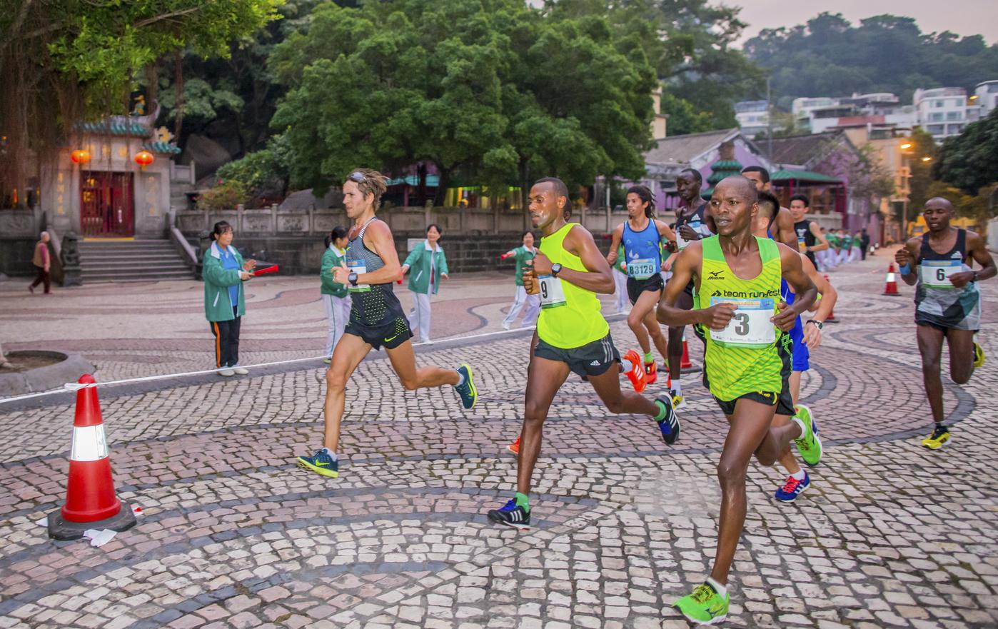 events in Macao international marathon