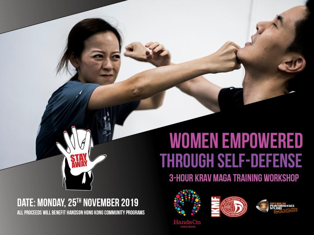 Women Empowered through Self-defense – Krav Maga Training Workshop