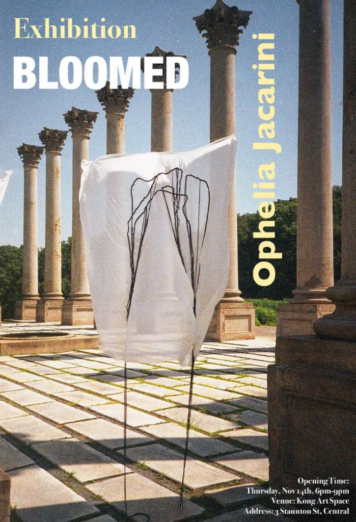 BLOOMED OPHELIA JACARINI SOLO SHOW