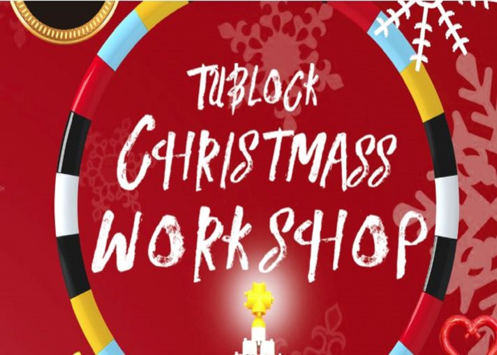 It's Christmas Tublock Time! Workshop at K11 Kulture Academy, K11 MUSEA