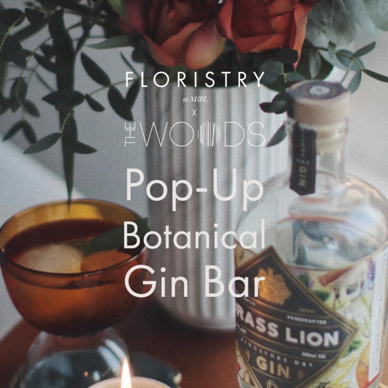 The Woods Nomadic Pop-Up Botanical Gin Bar