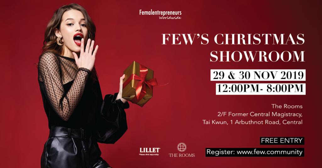 FEW's Christmas Showroom