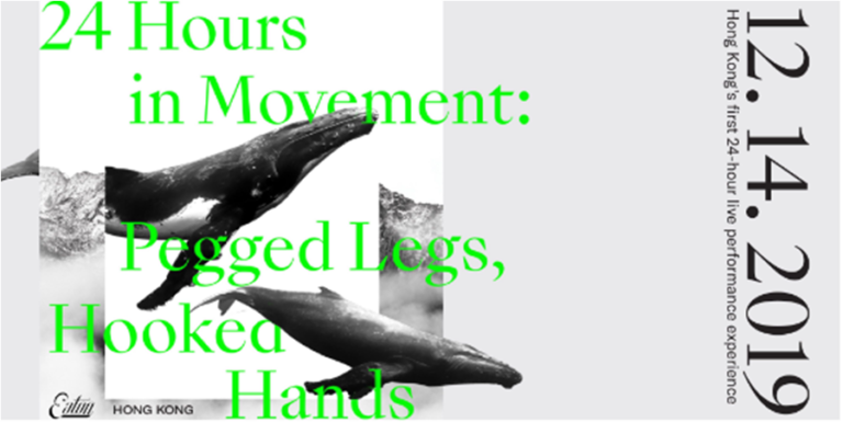 24 Hours in Movement: Pegged Legs, Hooked Hands