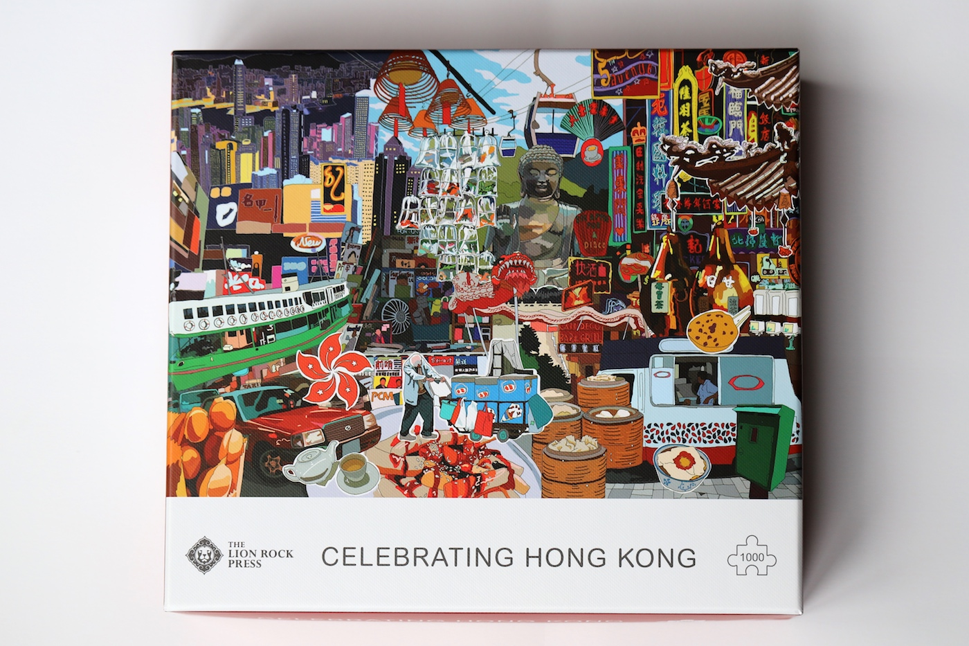 Hong KOng themed gifts Lion Rock Press jigsaw