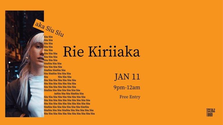 DJ Rie Kiriiaka at Terrible Baby