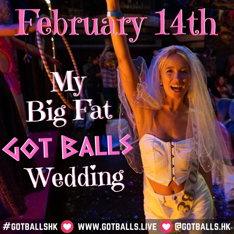 My Big Fat Got Balls Wedding