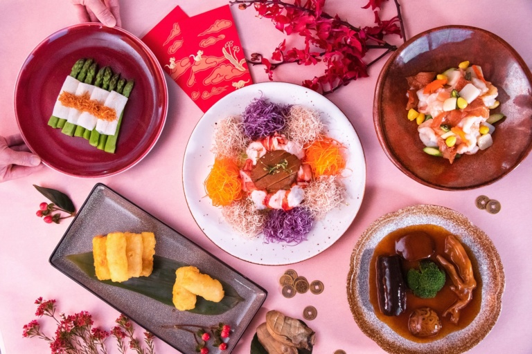 Chinese New Year Specialties at Above & Beyond at Hotel ICON