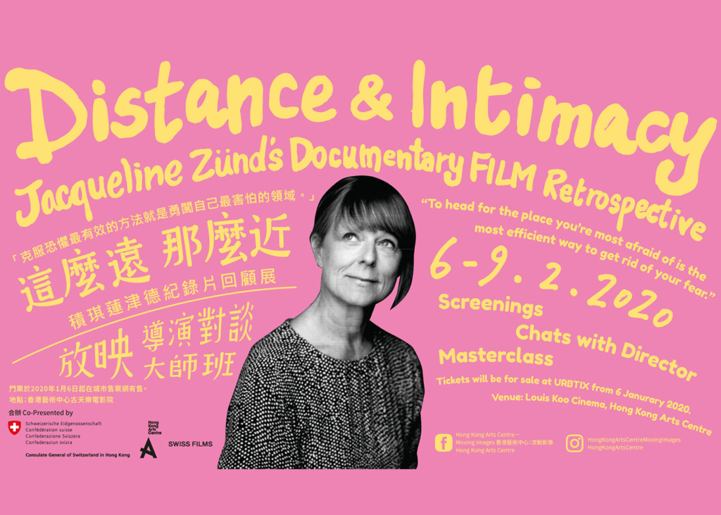 Distance and Intimacy: Jacqueline Zünd's Documentary Film Retrospective