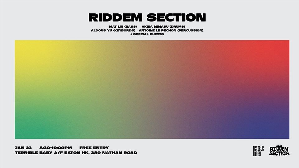 The Riddem Section Live at Terrible Baby