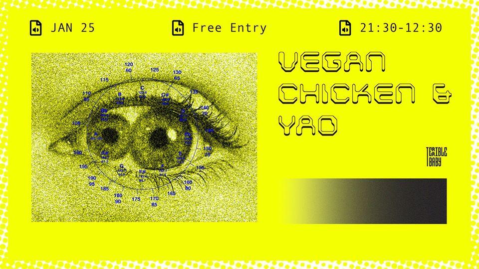 Vegan Chicken & Yao at Terrible Baby
