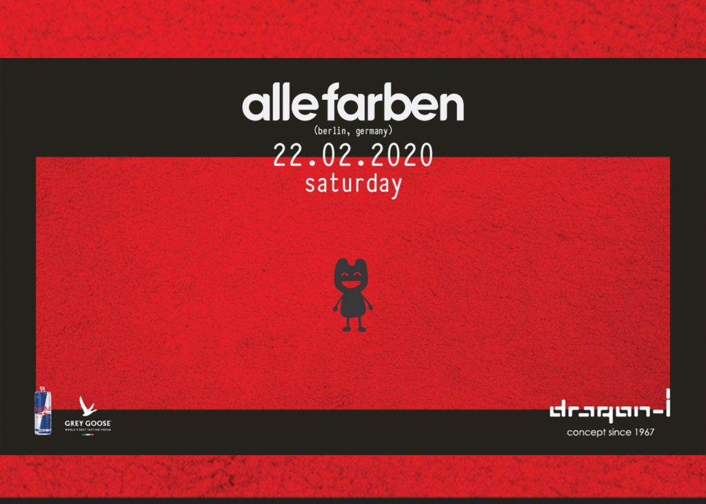 dragon-i presents Alle Farben (Berlin, Germany)