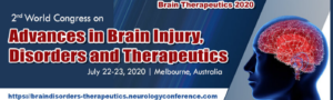 2nd World Congress on Advances in Brain Injury, Disorders and Therapeutics