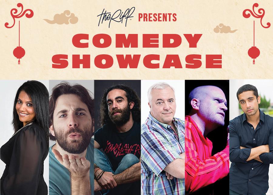 The Riff Presents: Comedy Showcase