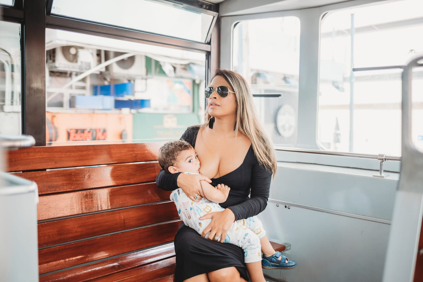 Liz Thomas discusses #ItTastesLikeLove, her campaign to decrease the stigma around breastfeeding in public