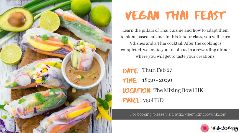Vegan Thai Cooking Class & Dinner