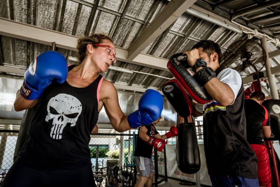 Online fitness classes with Thanyapura