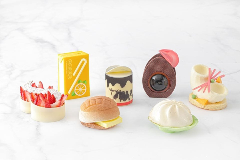 cakes from Dang Wen li by Dominique Ansel | New cafés in Hong Kong March 2020