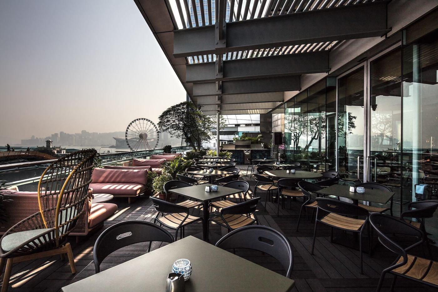 La Rambla by Catalunya terrace   outdoor restaurants in Hong Kong alfresco dining