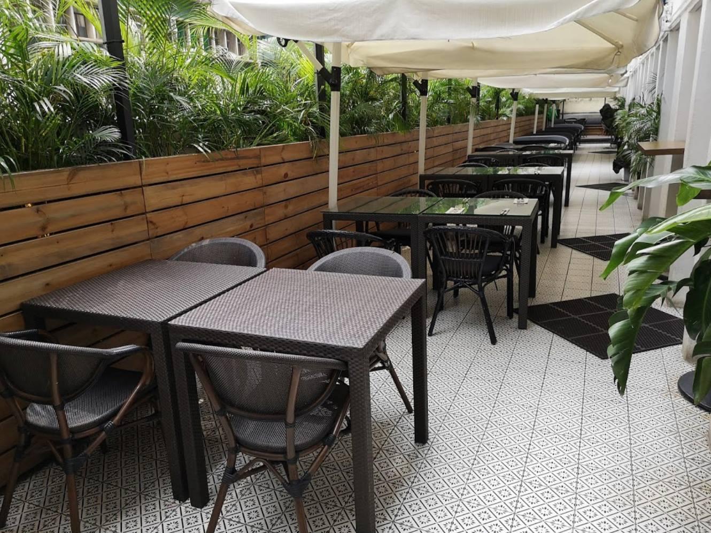 Mr Wolf terrace   outdoor restaurants in Hong Kong alfresco dining