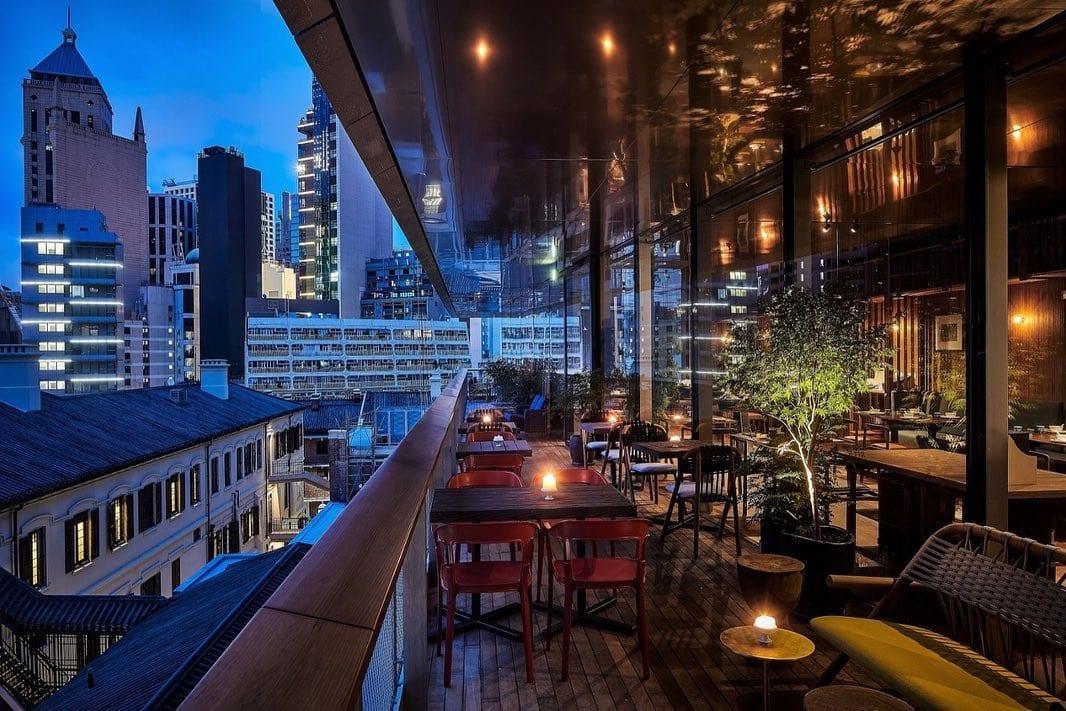 Old bailey terrace   outdoor restaurants in Hong Kong alfresco dining