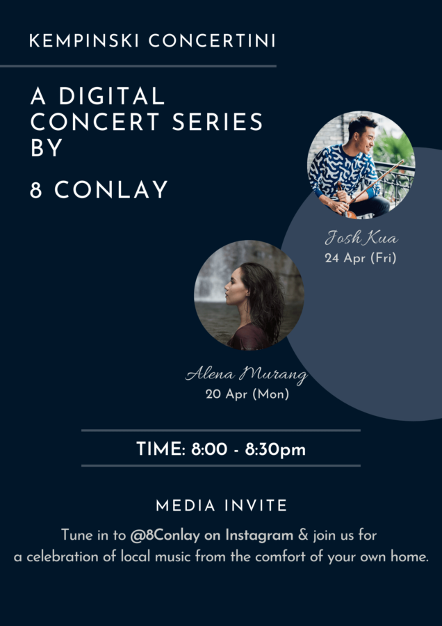 Kempinski Concertini – A Digital Concert Series by 8 Conlay