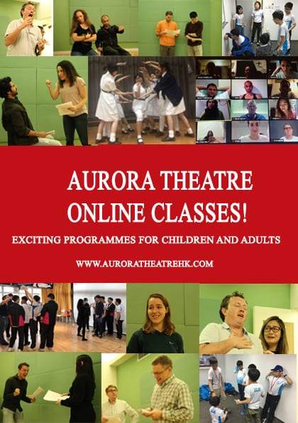 Drama classes for children and adults with Aurora Theatre