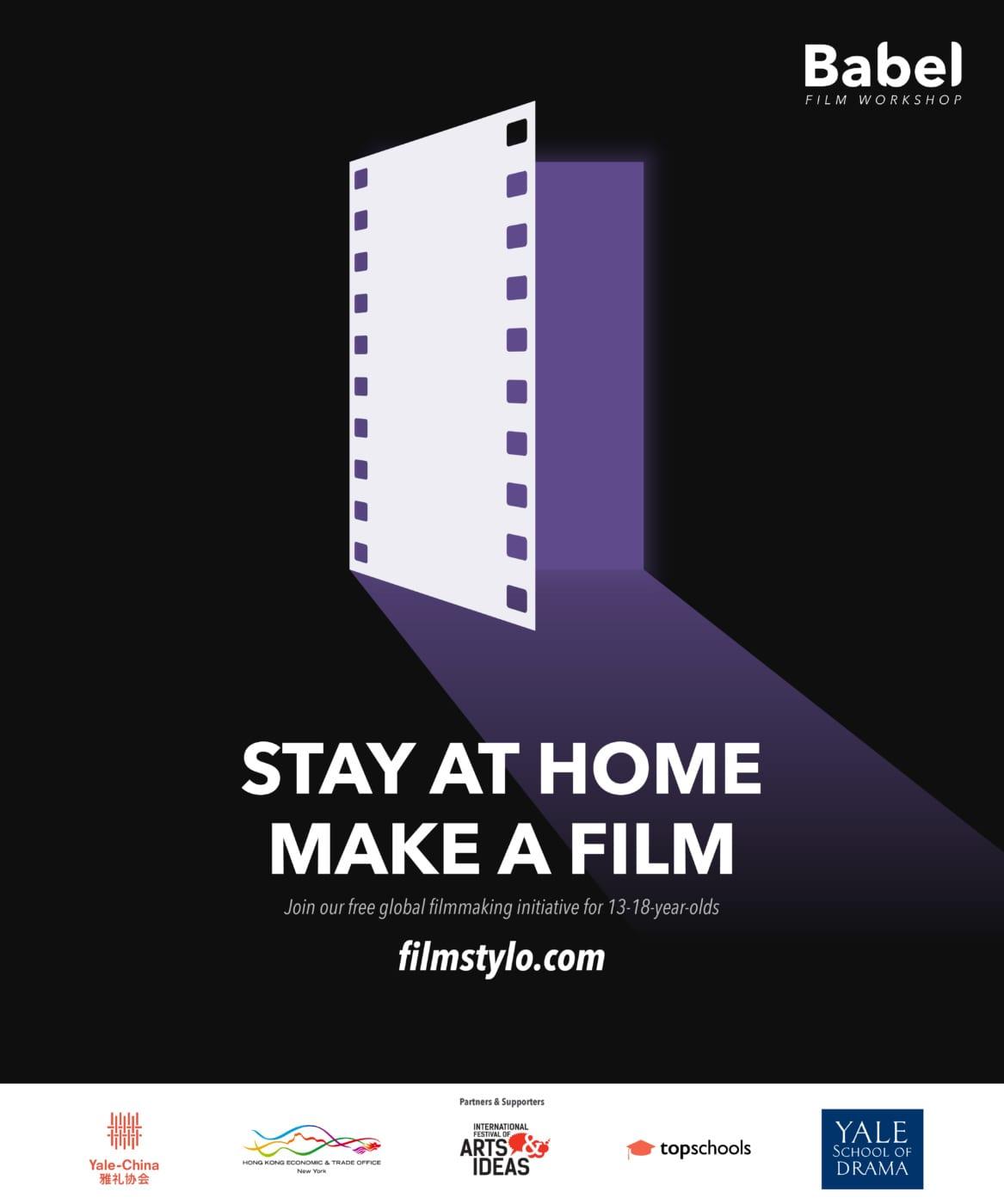 Babel Film Workshop offers free stay-at-home filmmaking program