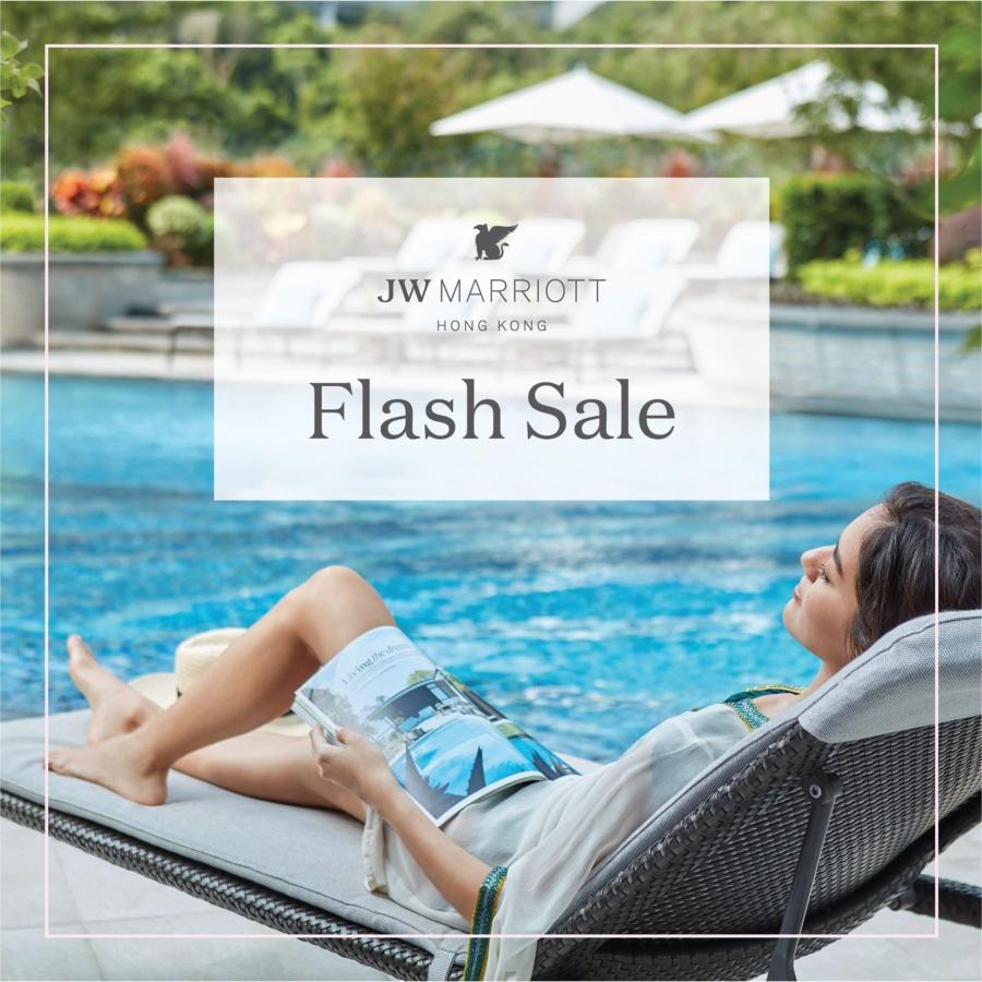 Flash Sale at JW Marriott Hotel Hong Kong