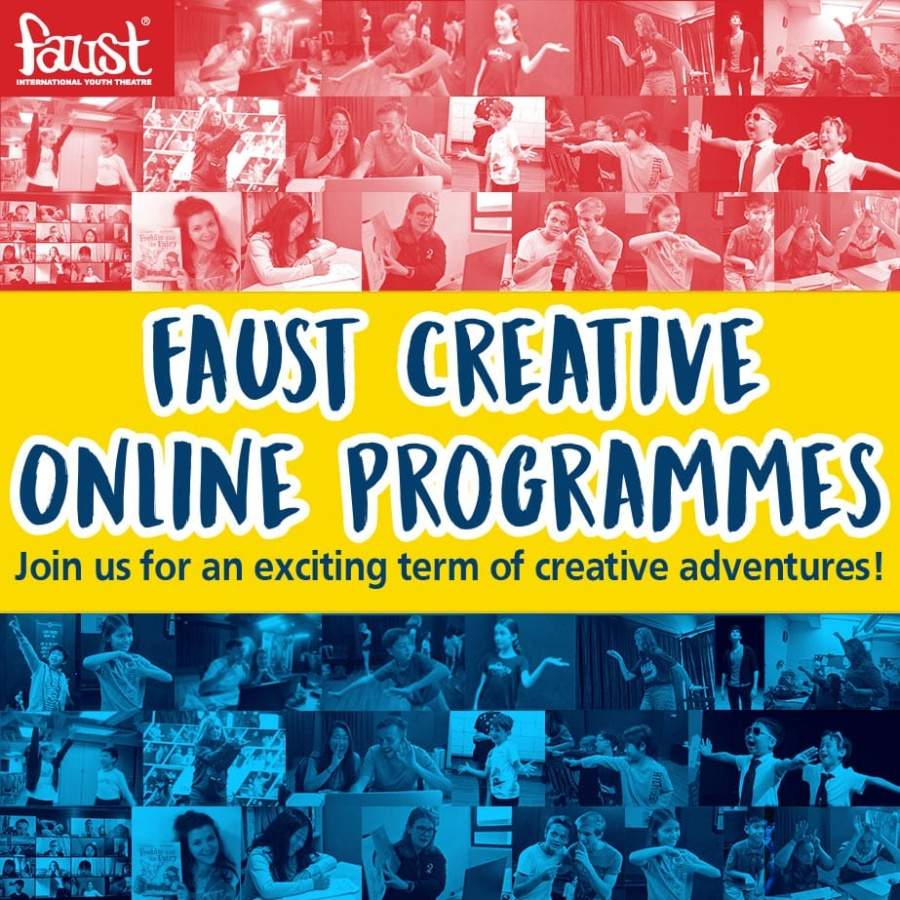 Faust International Youth Theatre's creative online programmes