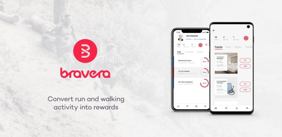 Bravera: Convert run and walking activity into rewards