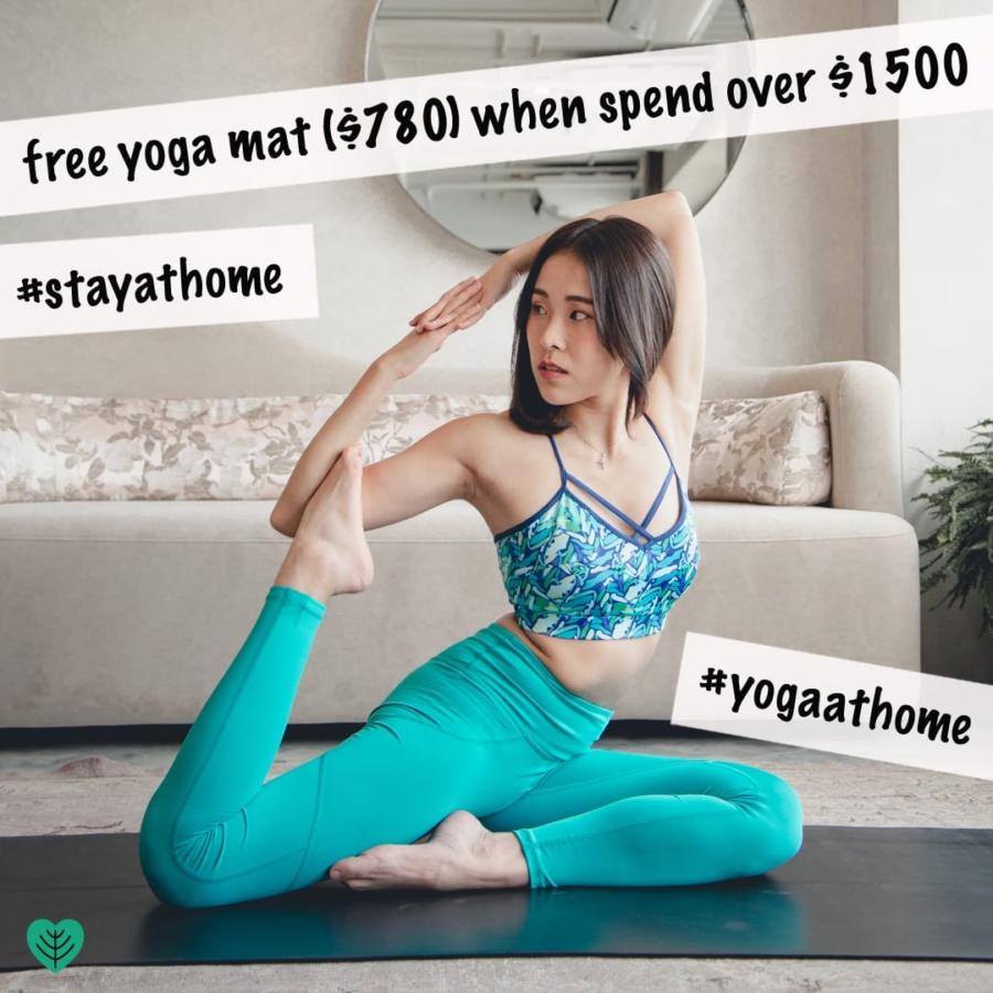 Hoya Kerry Lifestyle Limited: Free yoga mat