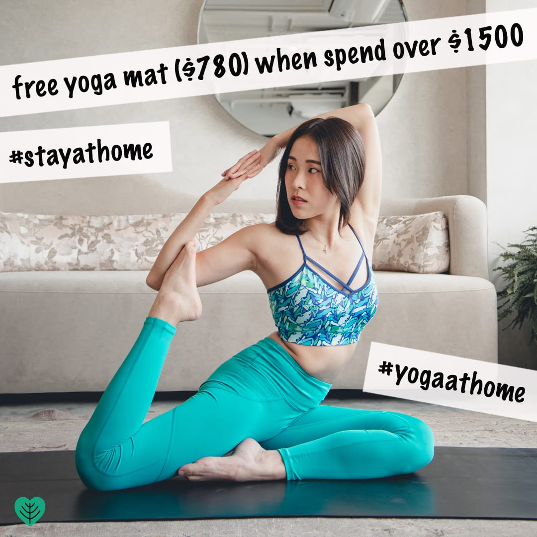 Hoya Kerry Lifestyle Limited: Free yoga mat