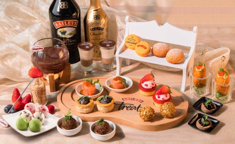 BAILEYS x Häagen-Dazs™ Afternoon Tea