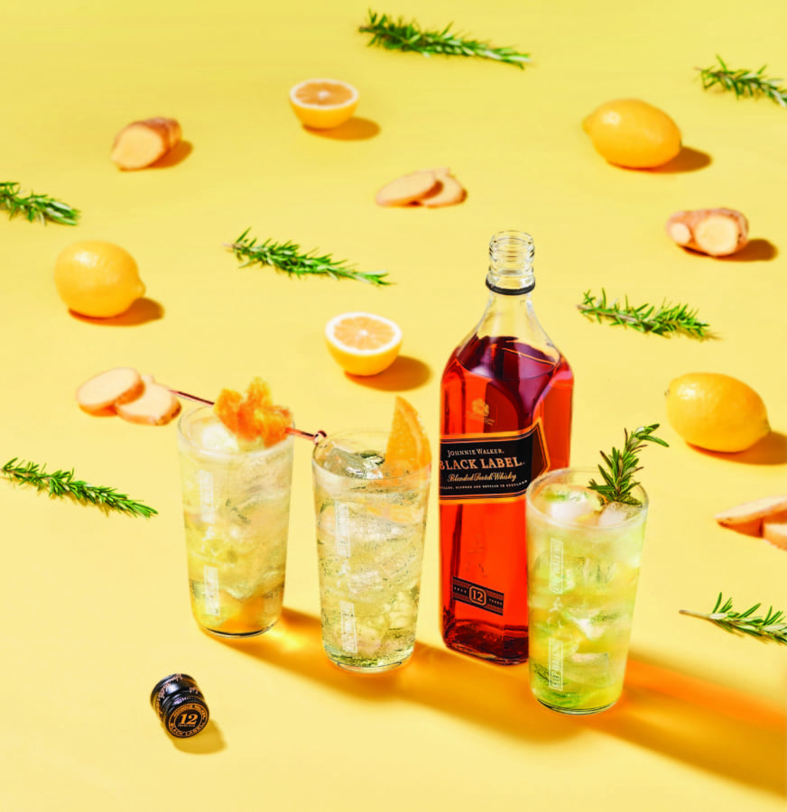 JOHNNIE WALKER collaborates with five celebrated Hong Kong bartenders  launching five exclusive Black Label Highball tutorial online videos