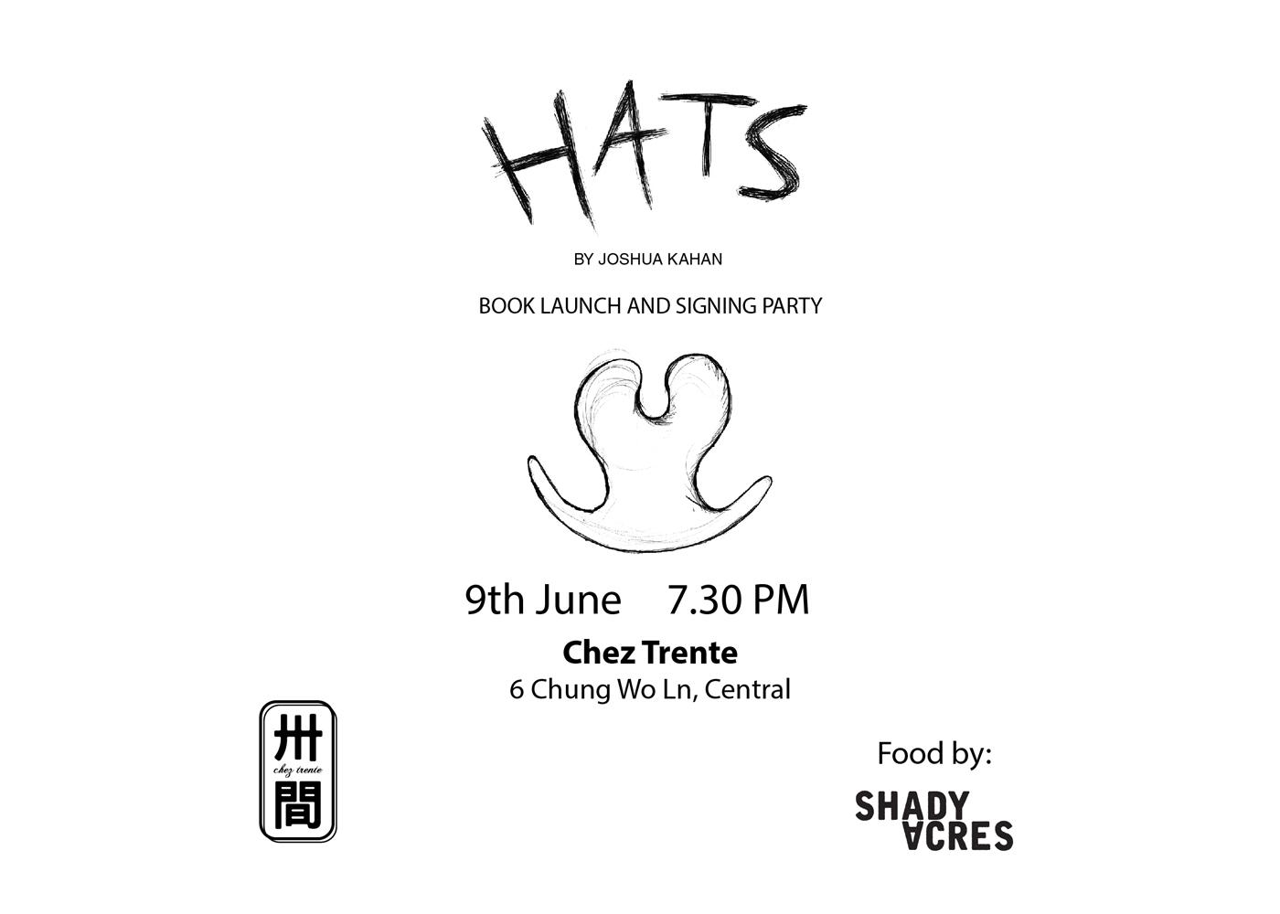 HATS By Joshua Kahan – Book Launch