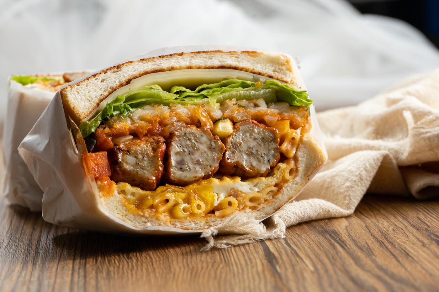 Hand3ag sandwich