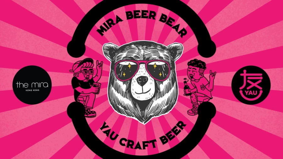 Mira Beer Bear x Yau Craft Pop Up Bar