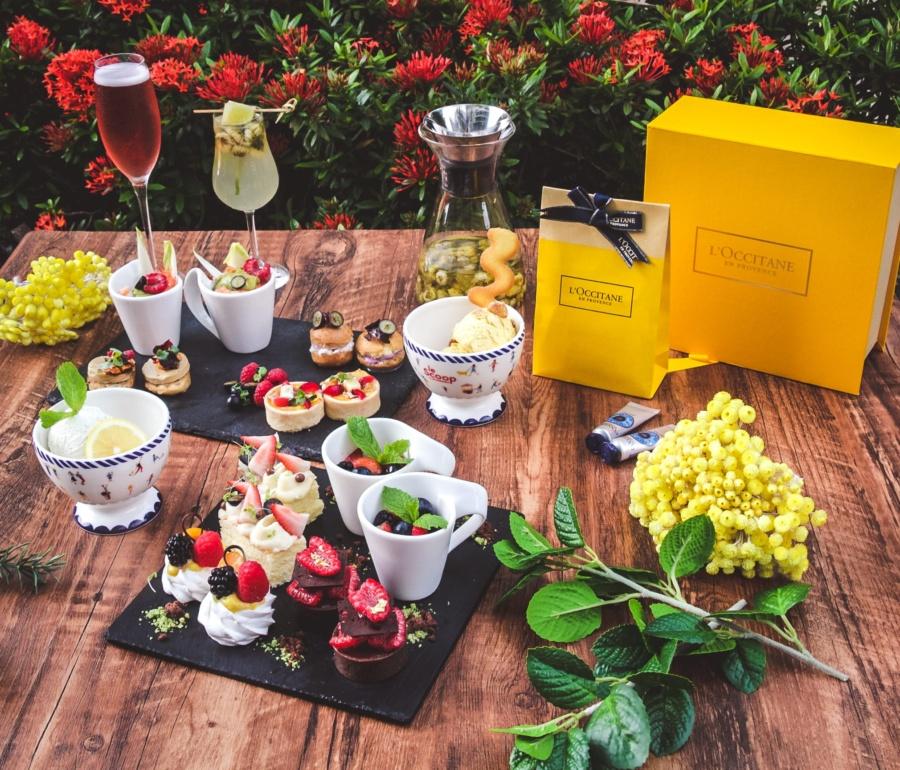 L'Occitane Afternoon Tea Set at Prompt Bistro
