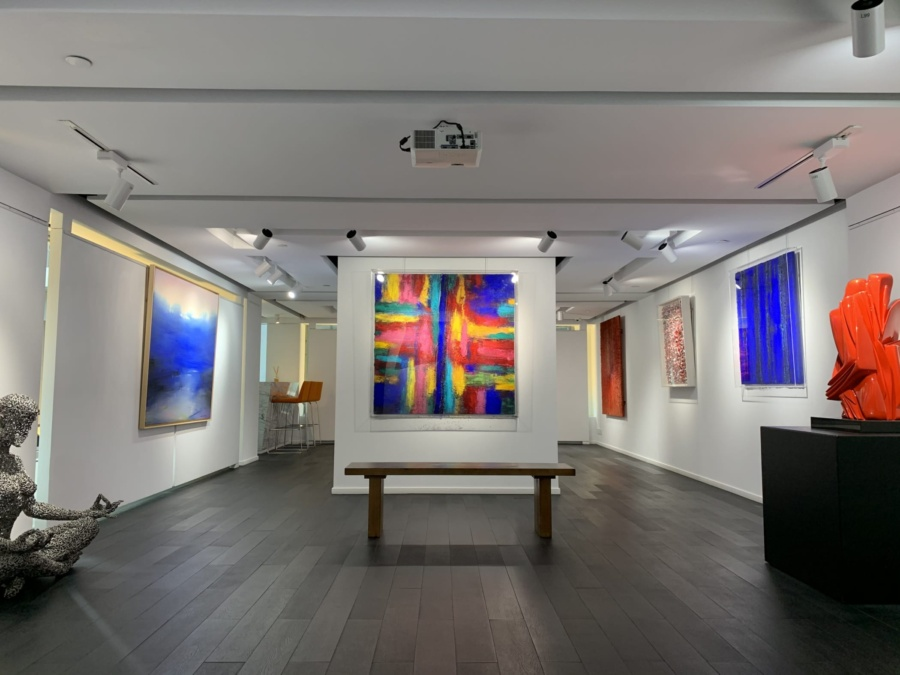 Colourful Artworks at Opera Gallery Hong Kong