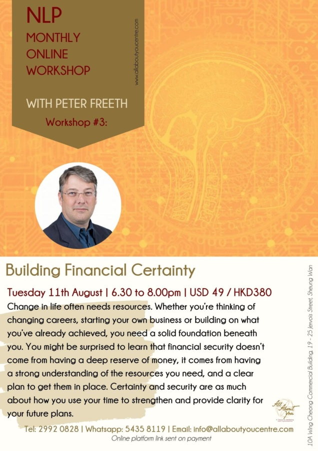 Neuro-Linguistic Programming (NLP)Building Financial Security