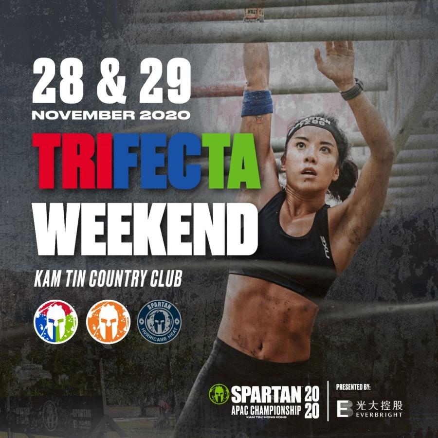 Hong Kong Spartan APAC Championship Trifecta Weekend 2020