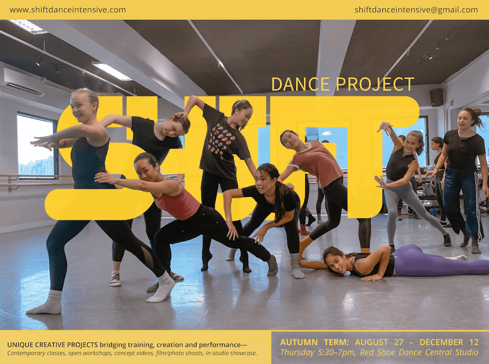 SHIFT Dance Project (Contemporary Dance Class)