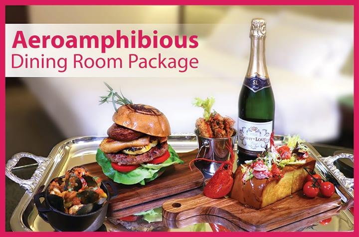 Aeroamphibious Dining Room Package at Regal Kowloon Hotel