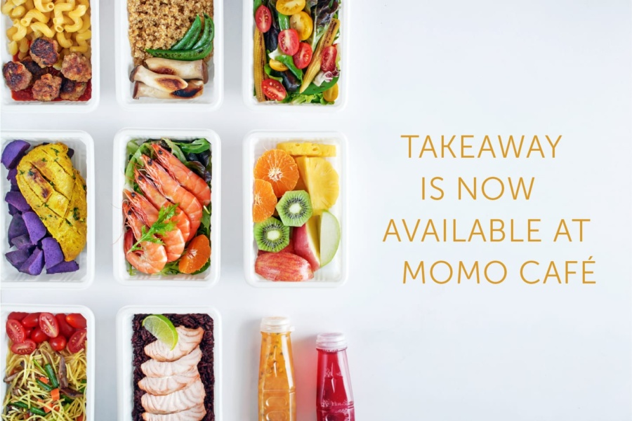 Takeaway is now available at MoMo Café!