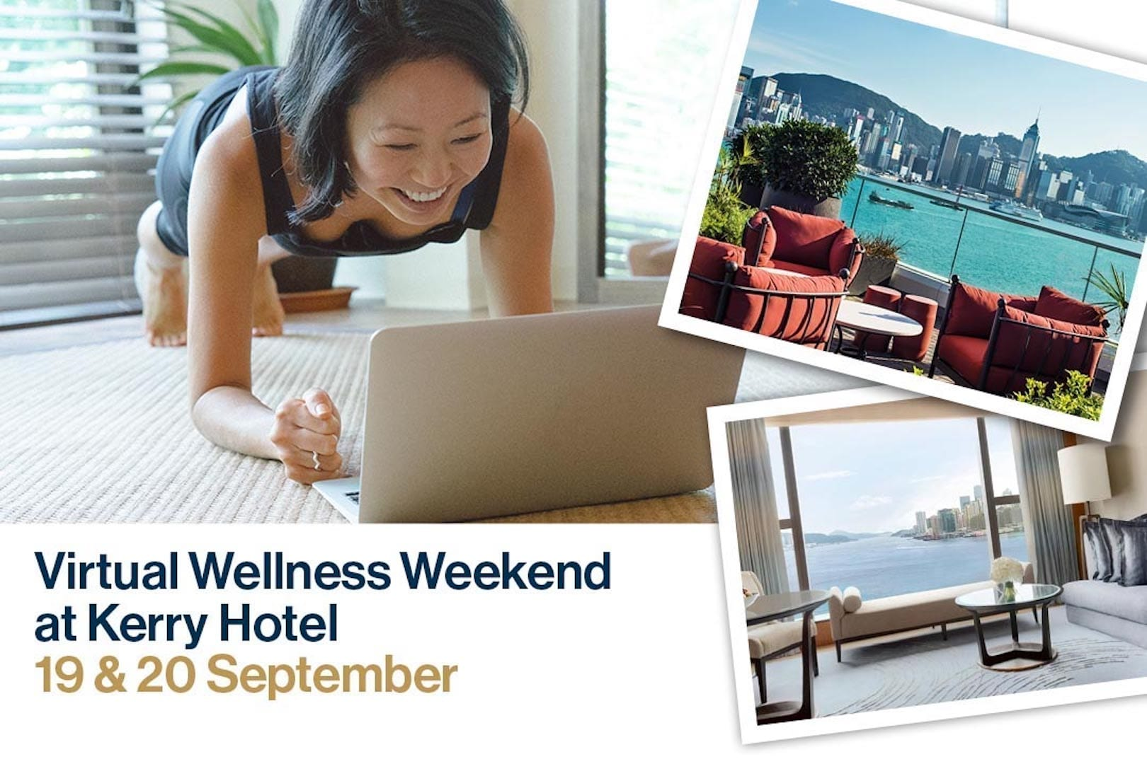 PURE & Kerry Hotel Partner to Launch First-Ever HK Virtual Wellness Weekend