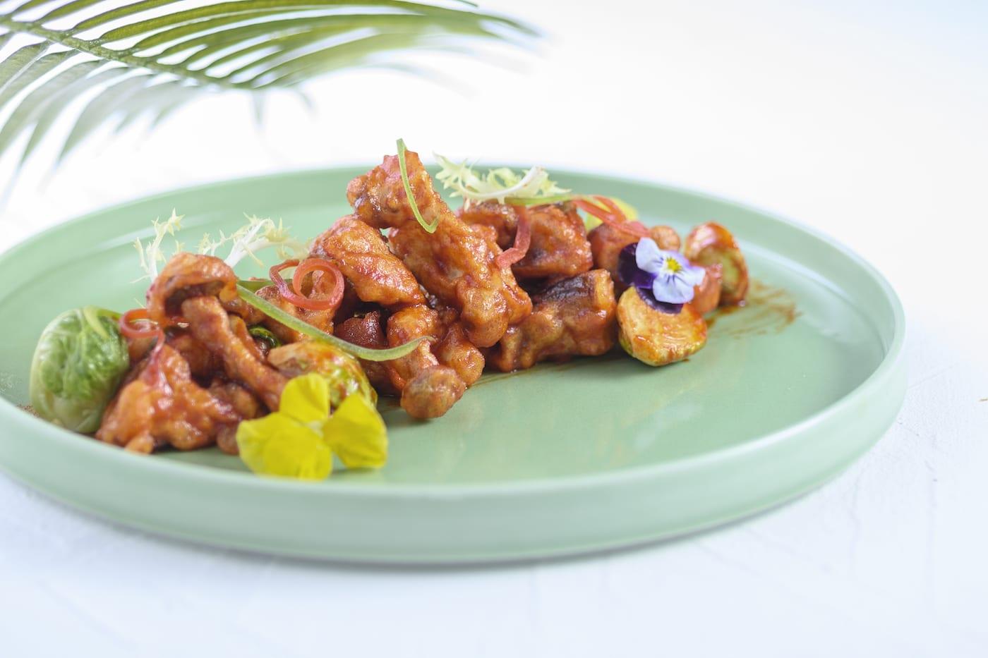 Sweet & Spicy mushrooms